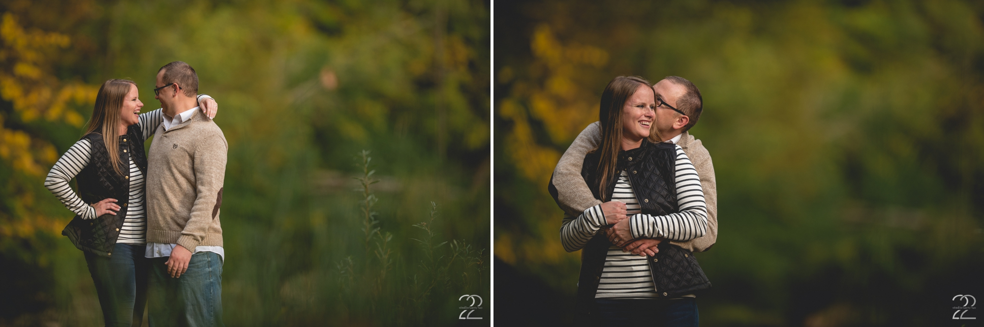 Nature Preserve Engagement Photos - Autumn Engagement Sessions