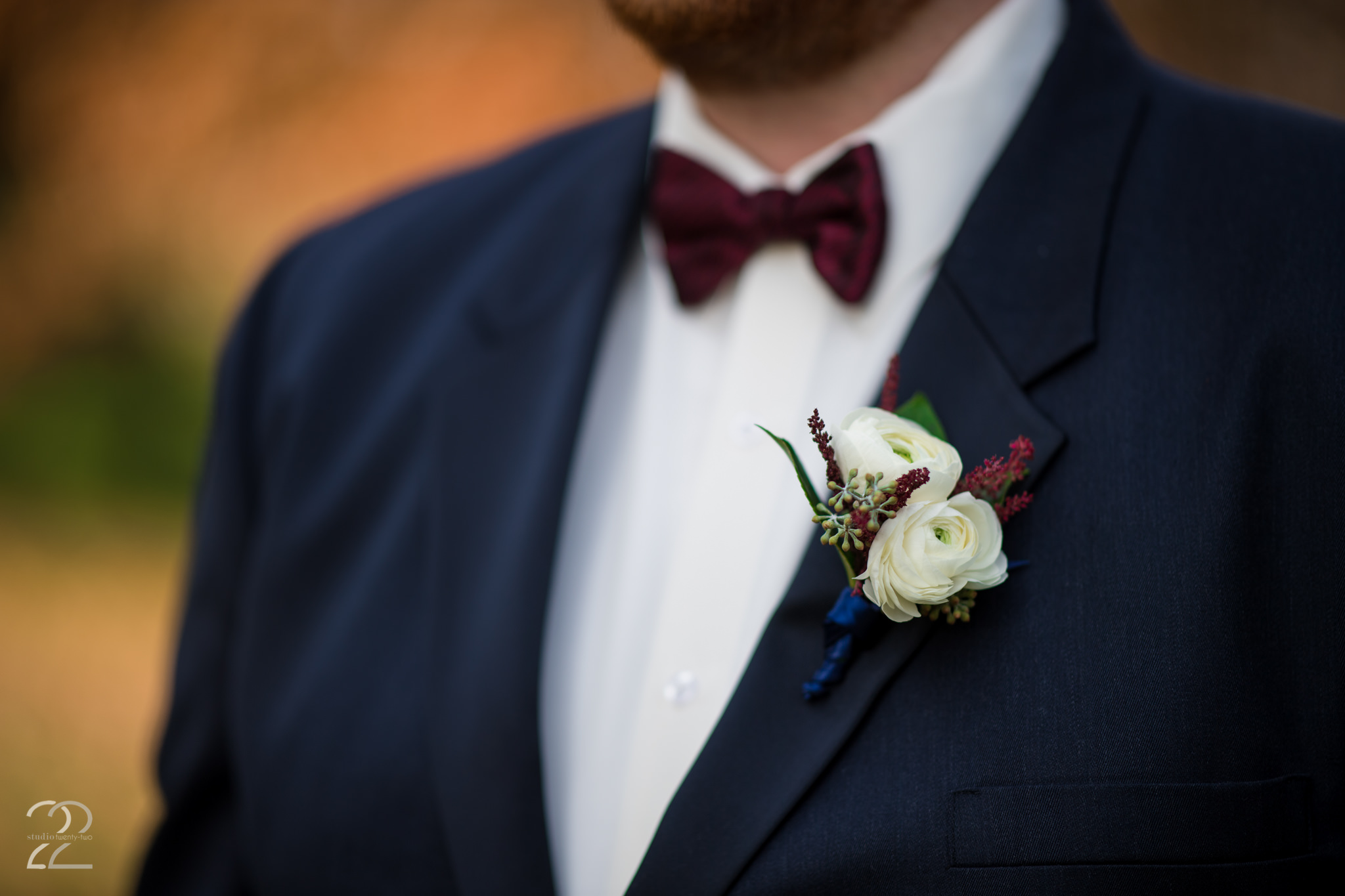 Wedding Floral Designs - Groom Boutonniere - Wedding Floral Ideas