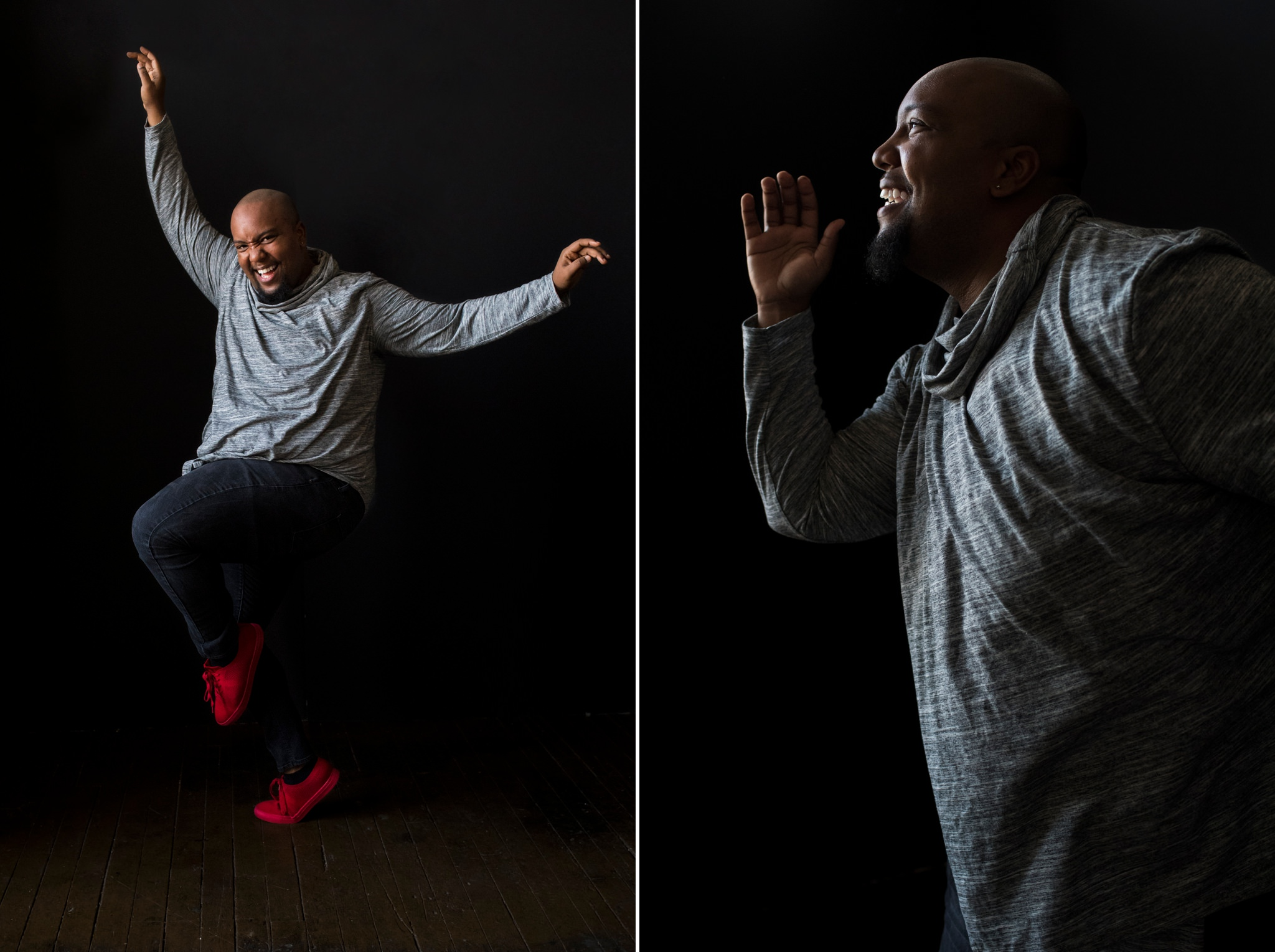 Broadway Portrait Photographer - Chicago Portrait Photographer - Genie in Aladdin - Anthony Murphy