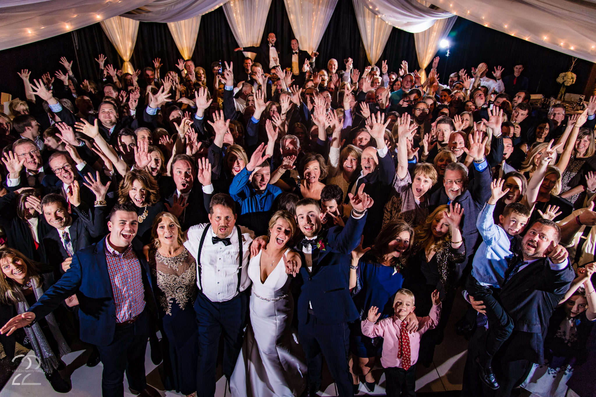 Party Pleasers Services - Wedding DJs in Dayton - Top of the Market - Downtown Winter Wedding