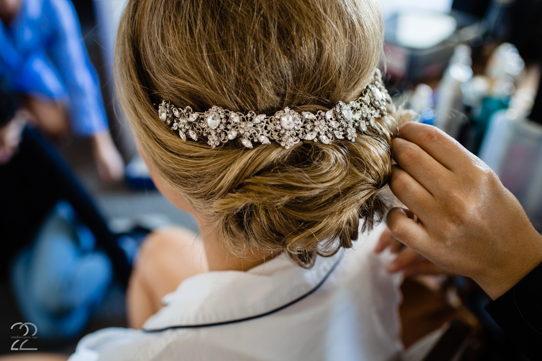 Sweetly Pinned Hair - Dayton Wedding Hairstylists