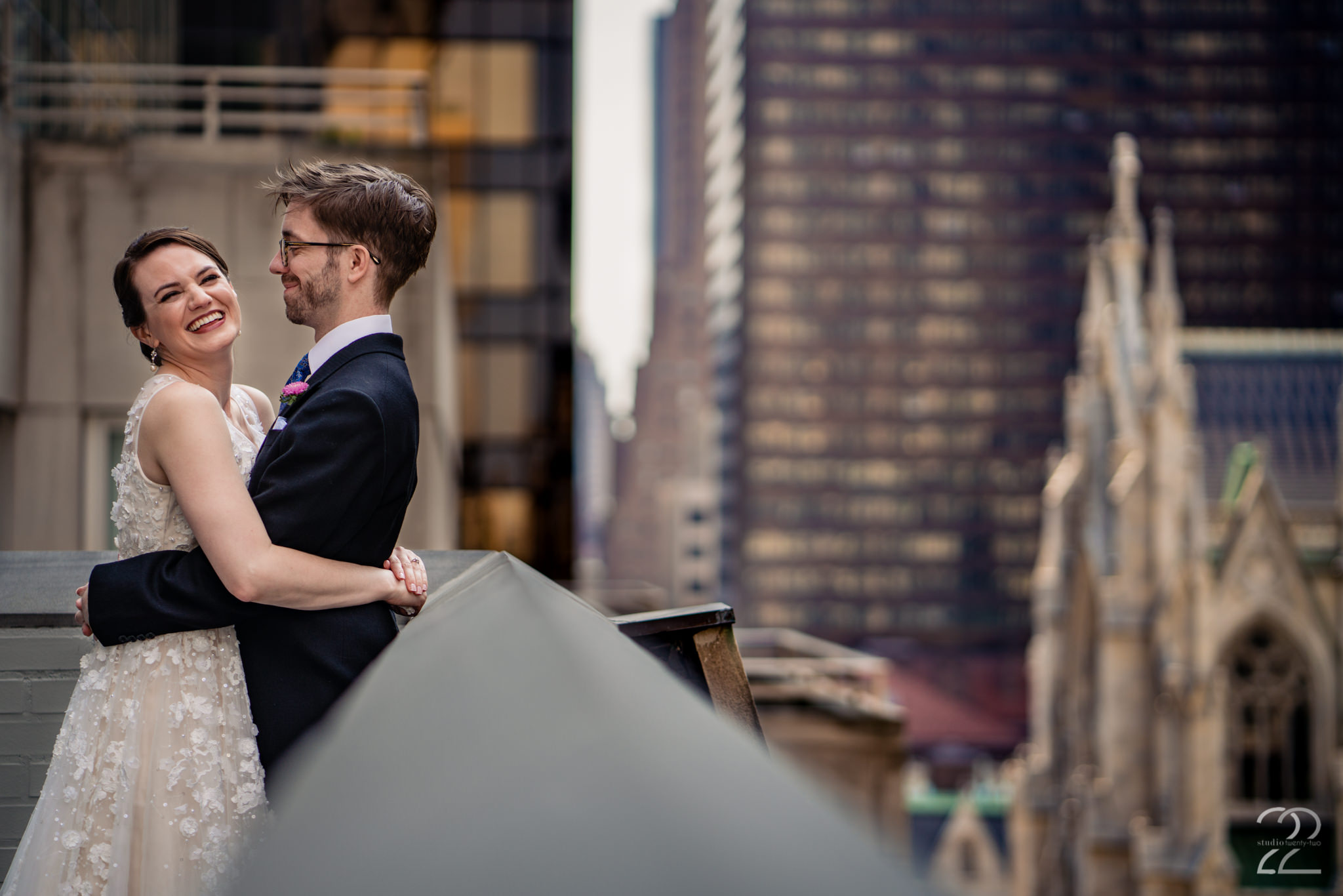 You have planned your wedding to be completely you, so let Studio 22 Photography capture that essence. This NYC wedding wouldn't have been complete without an image of NYC as a background. 3West Club, was an amazing venue for every aspect of the wedding day and was in a stellar location for photographs.