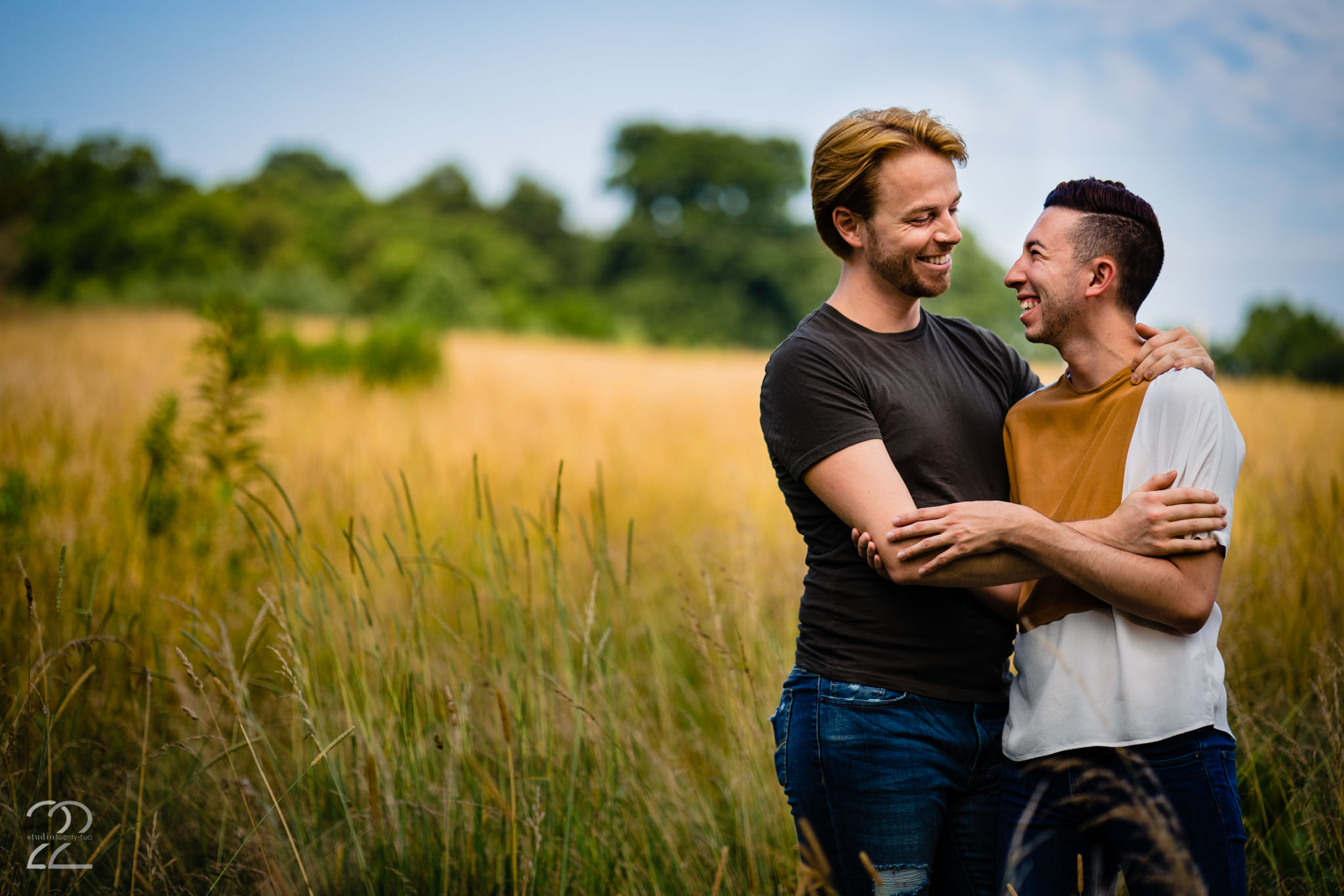 Outdoor Engagement Photos - LGBTQ Friendly Wedding Photographers