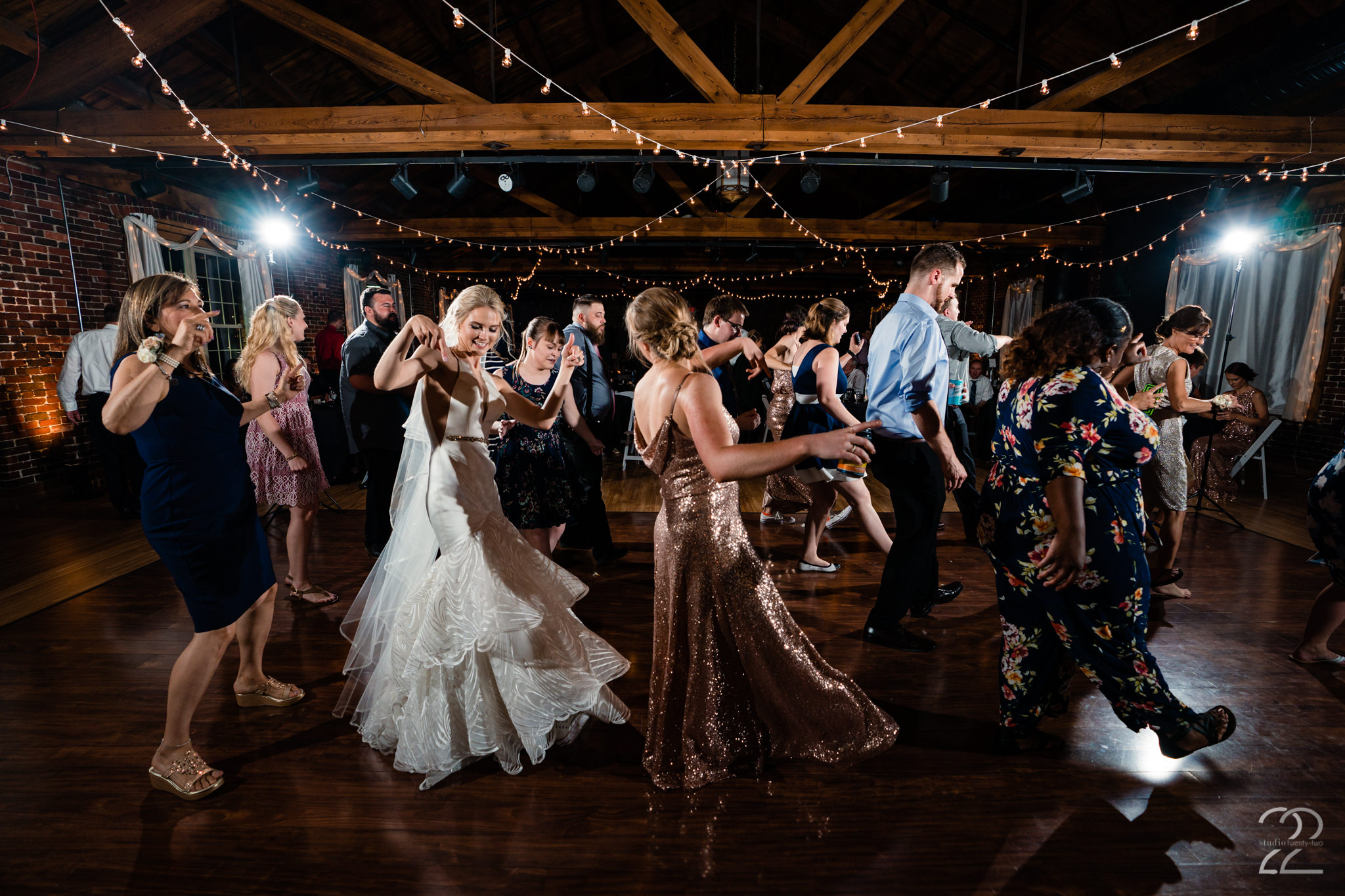 Top of the Market in Dayton, Ohio has the perfect dance floors for you and your guests to bust a move.