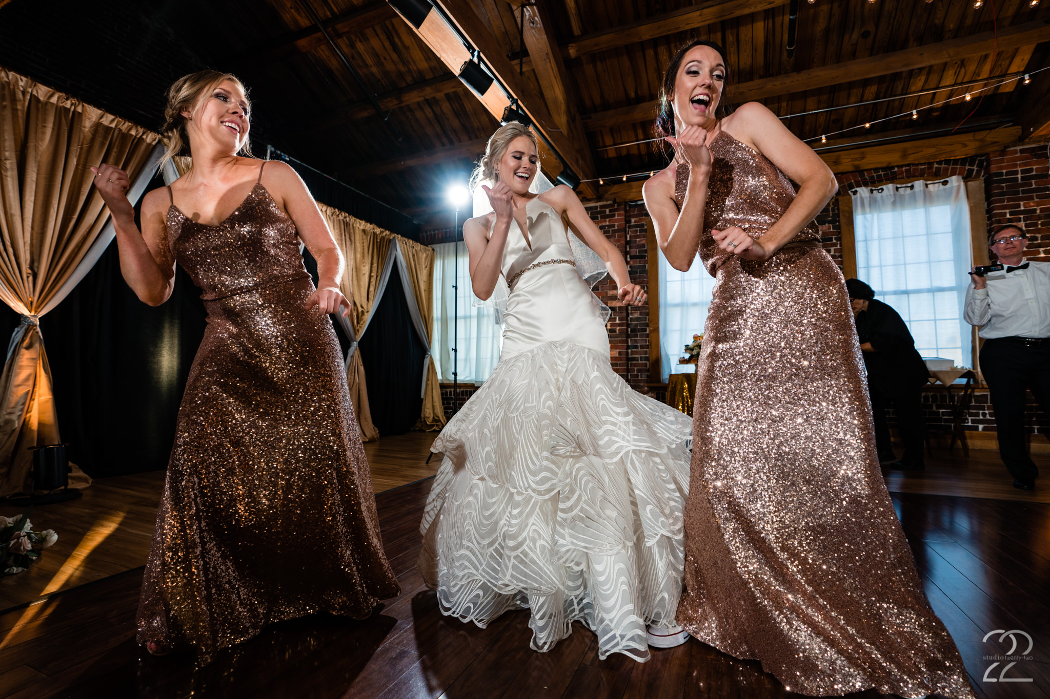 Receptions are one of the most fun things for us to shoot at a wedding. We love capturing everyone letting loose and having fun! Dillon and Corrie's reception at Top of the Market Dayton was a blast!