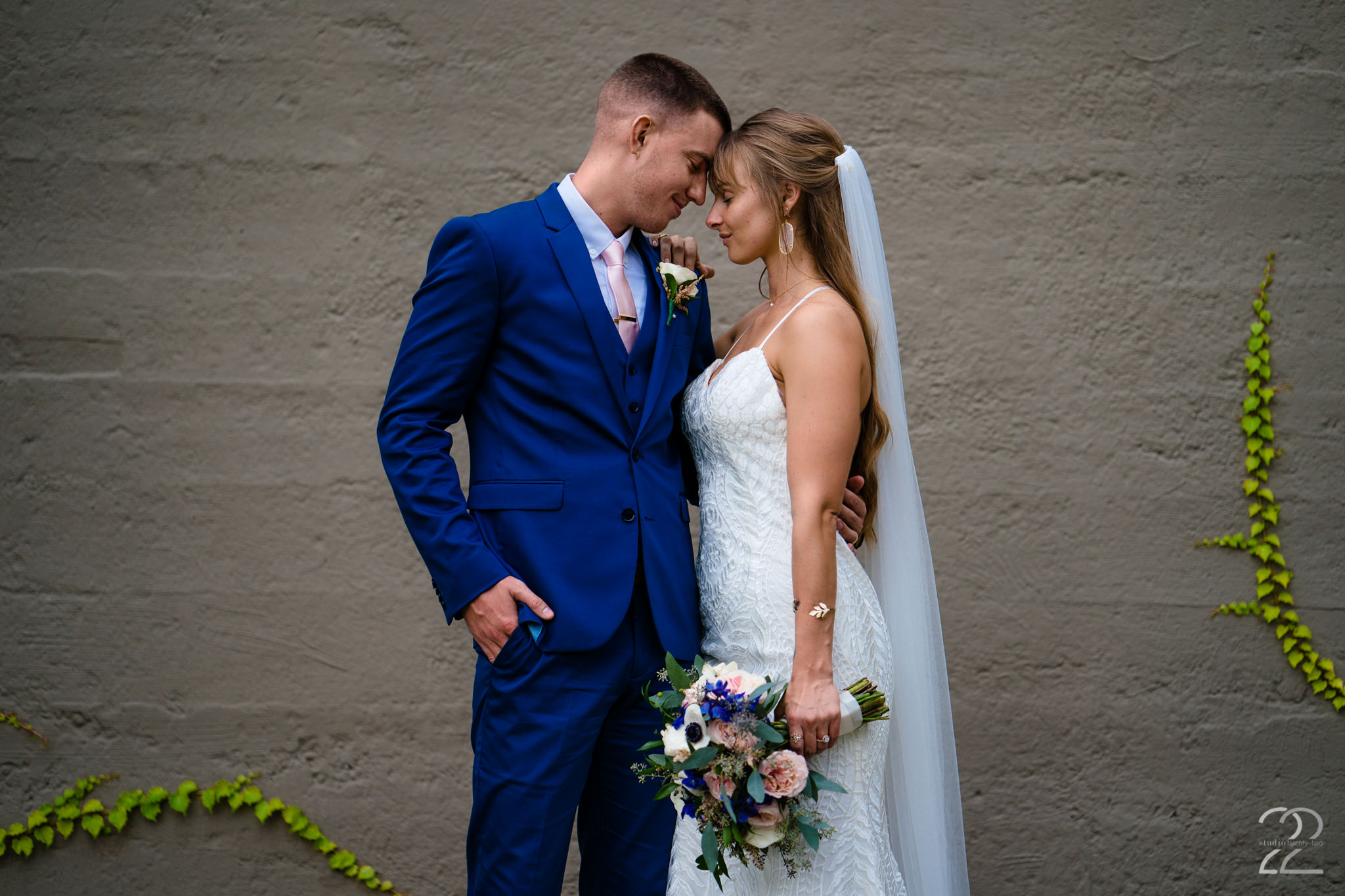Steam Plant Wedding Photos