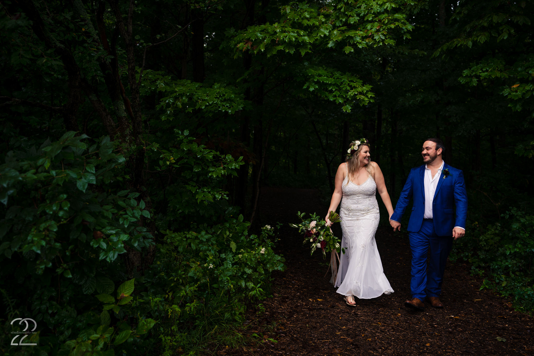 First steps into a new adventure as husband and wife. Megan adores capturing the little looks between the couple, as well as those in between moments (like walking from one photo location to another).