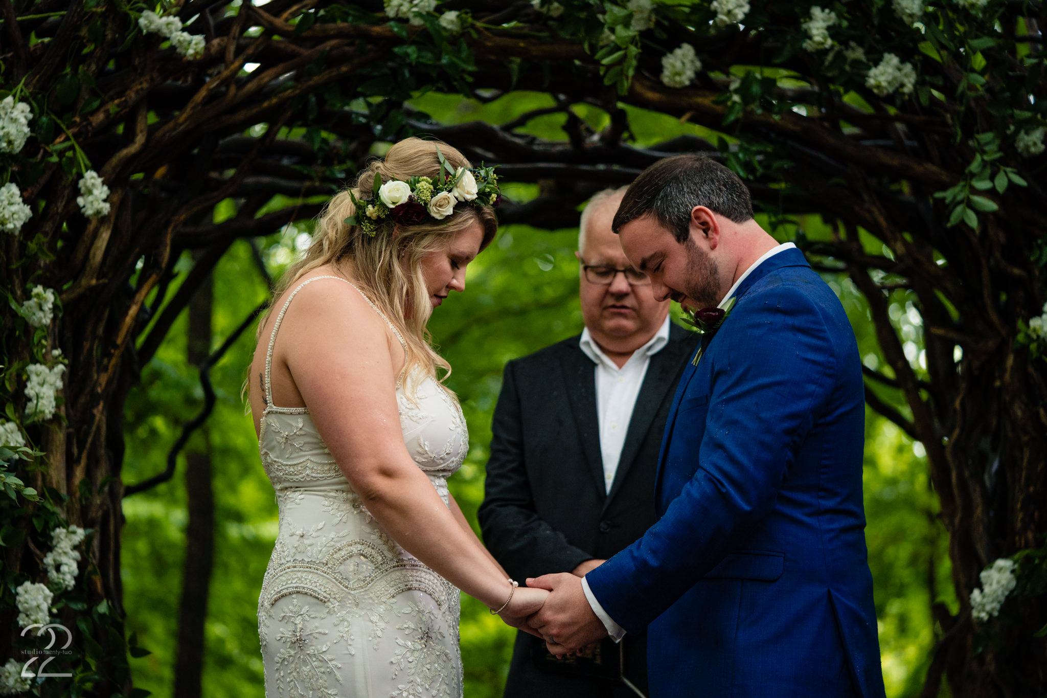 A moment of prayer and reflection within nature is powerful and so meaningful. This moment was made more beautiful only because of the love of these two people.