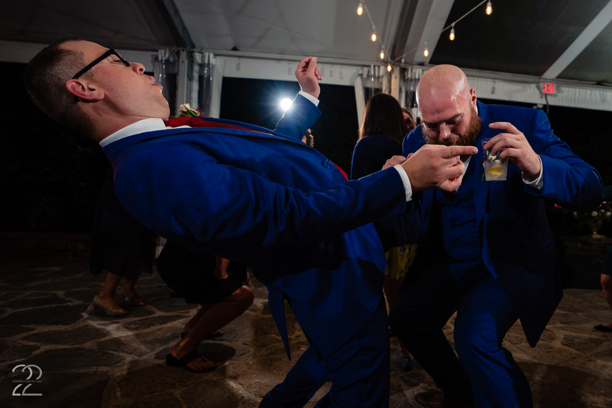 There is nothing more fun for Megan to photograph at a wedding then people having the time of their lives. Megan loves capturing wild receptions and hilarious wedding parties.