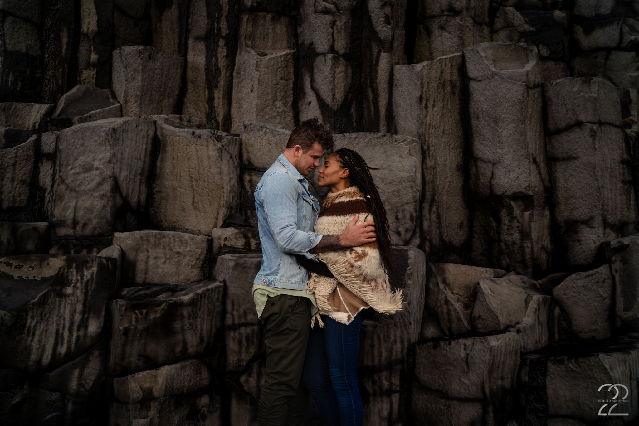 Couples Photos on Reynisfjara Beach - Studio 22 Photography