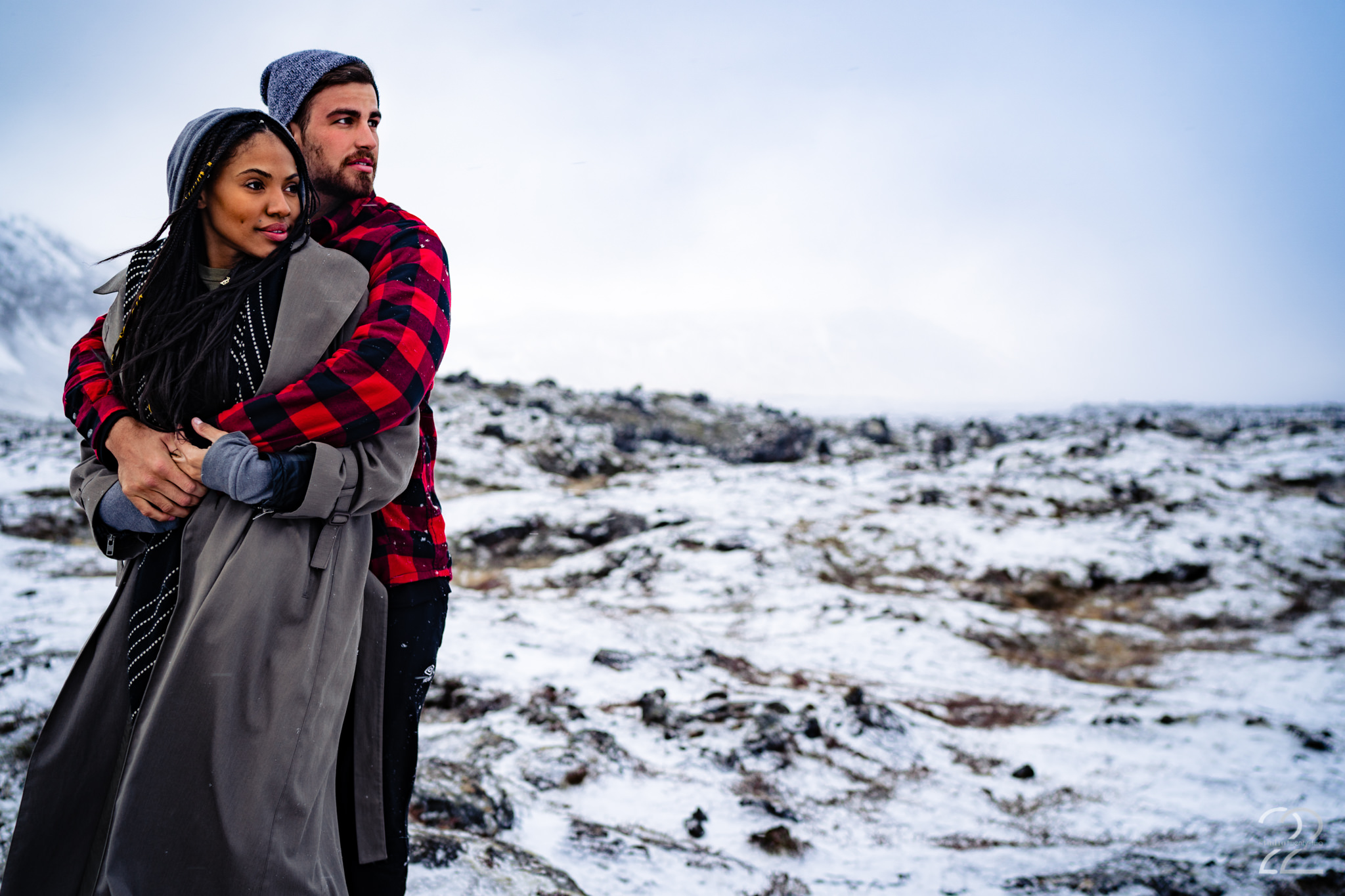 Iceland Engagement Photos - Studio 22 Photography