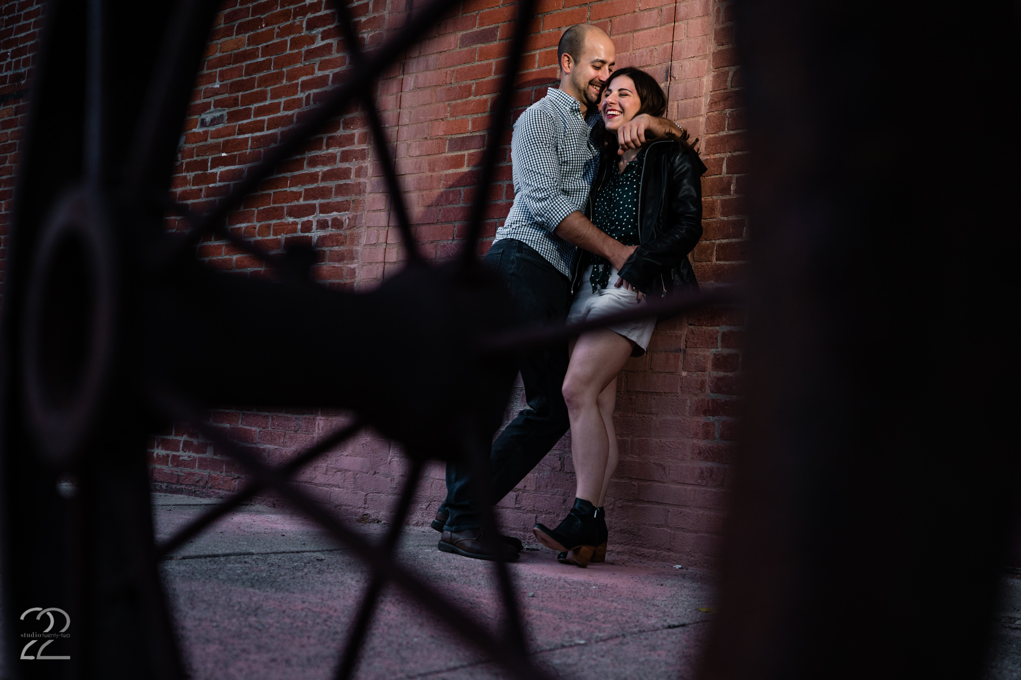 Downtown Dayton Engagement Session