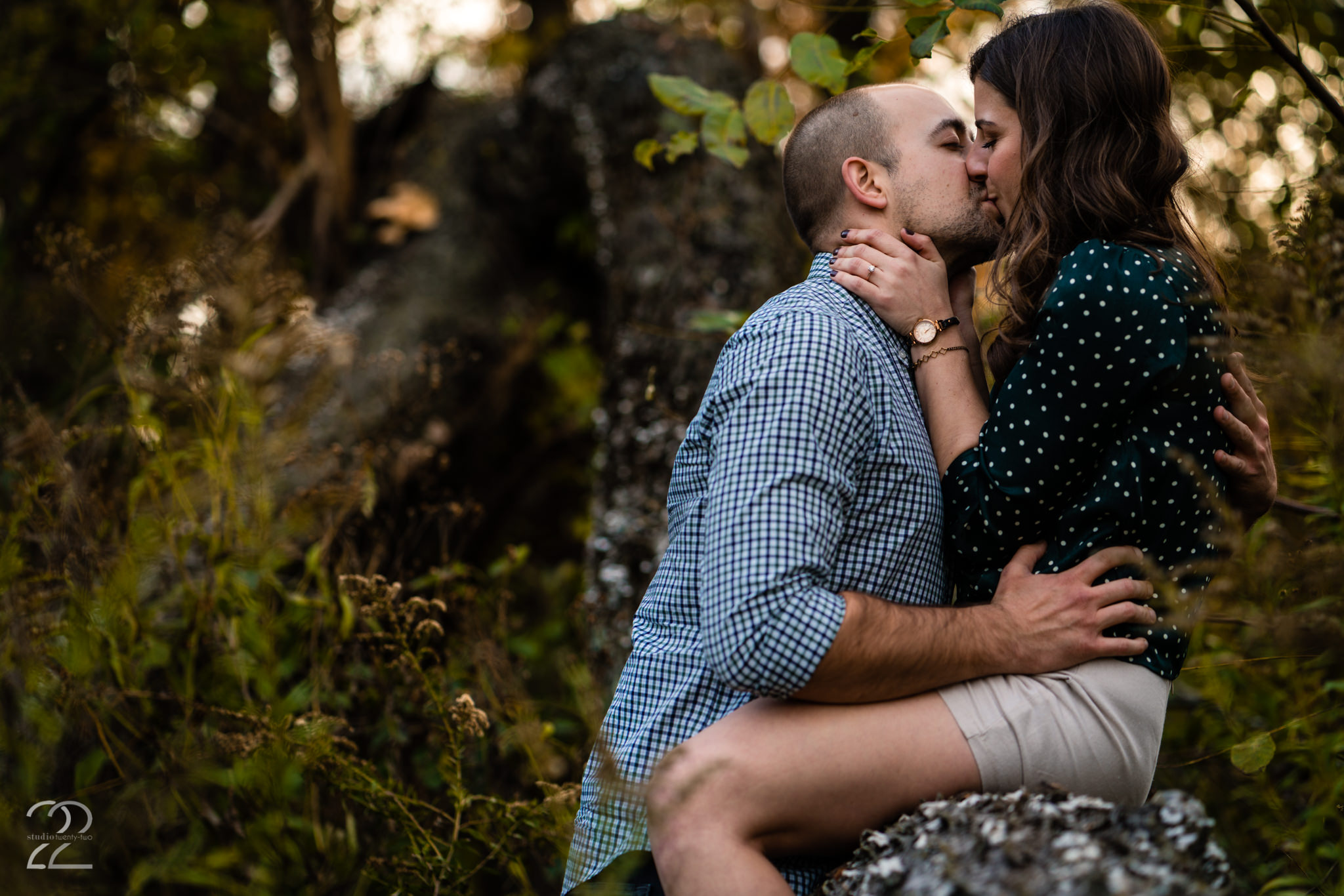 Autumn Metropark Engagement Photos - Wegerzyn