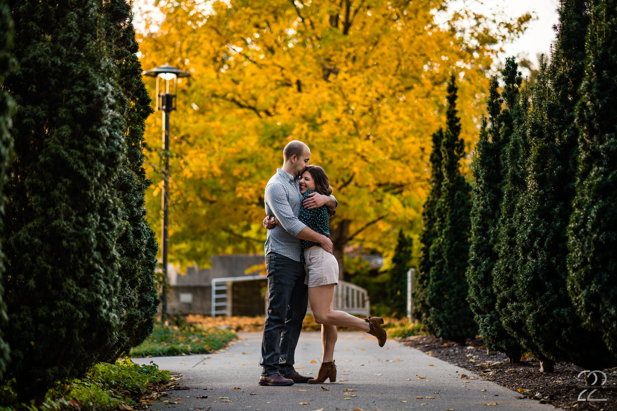 Wegerzyn Metro Park Engagement Photos