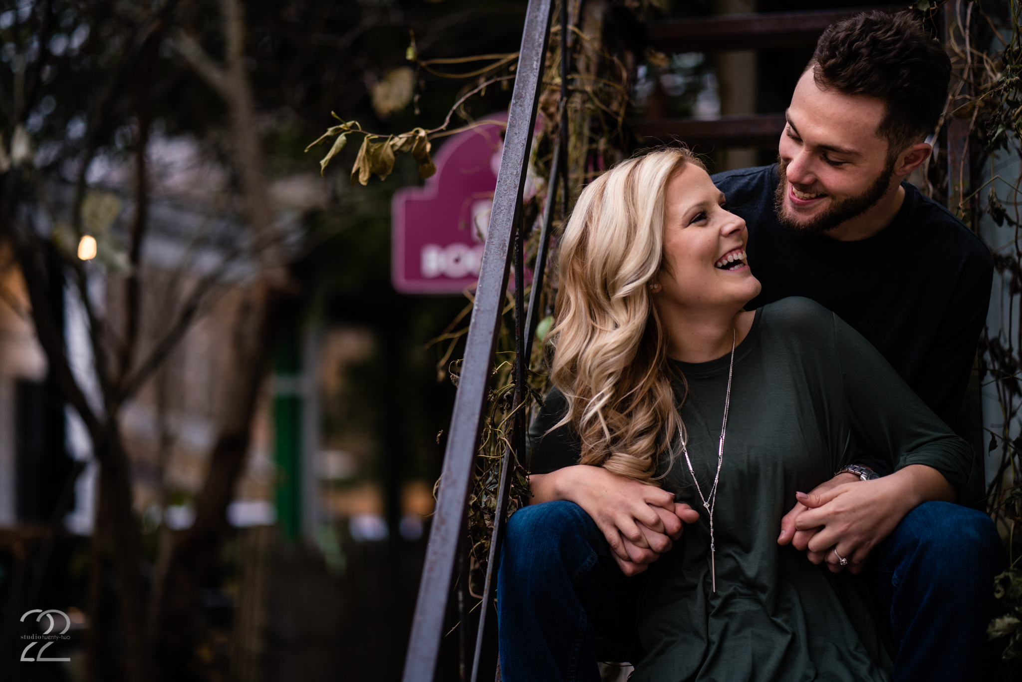 Yellow Springs Engagement Photos - Studio 22 Photography
