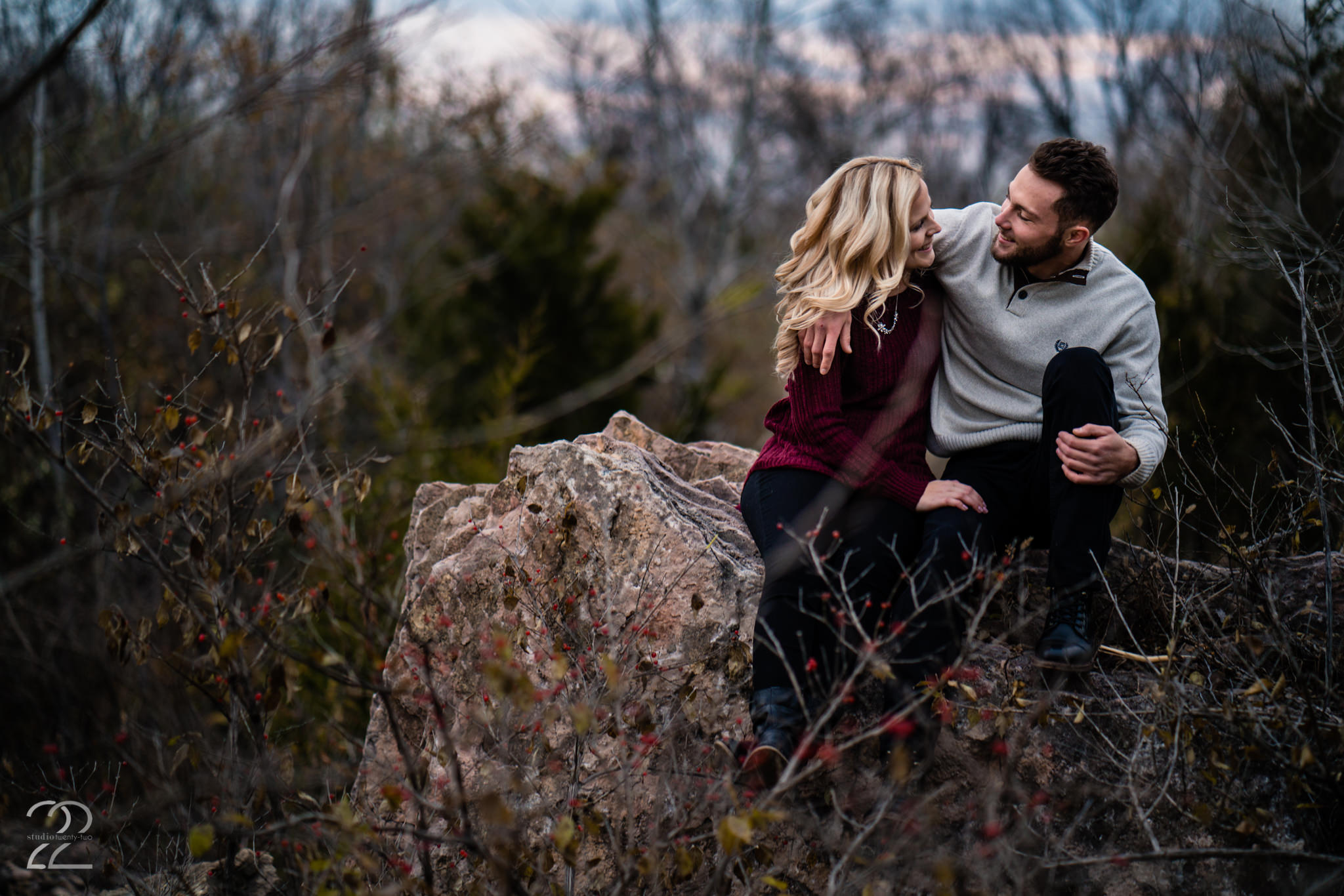 Yellow Springs Engagement Photos