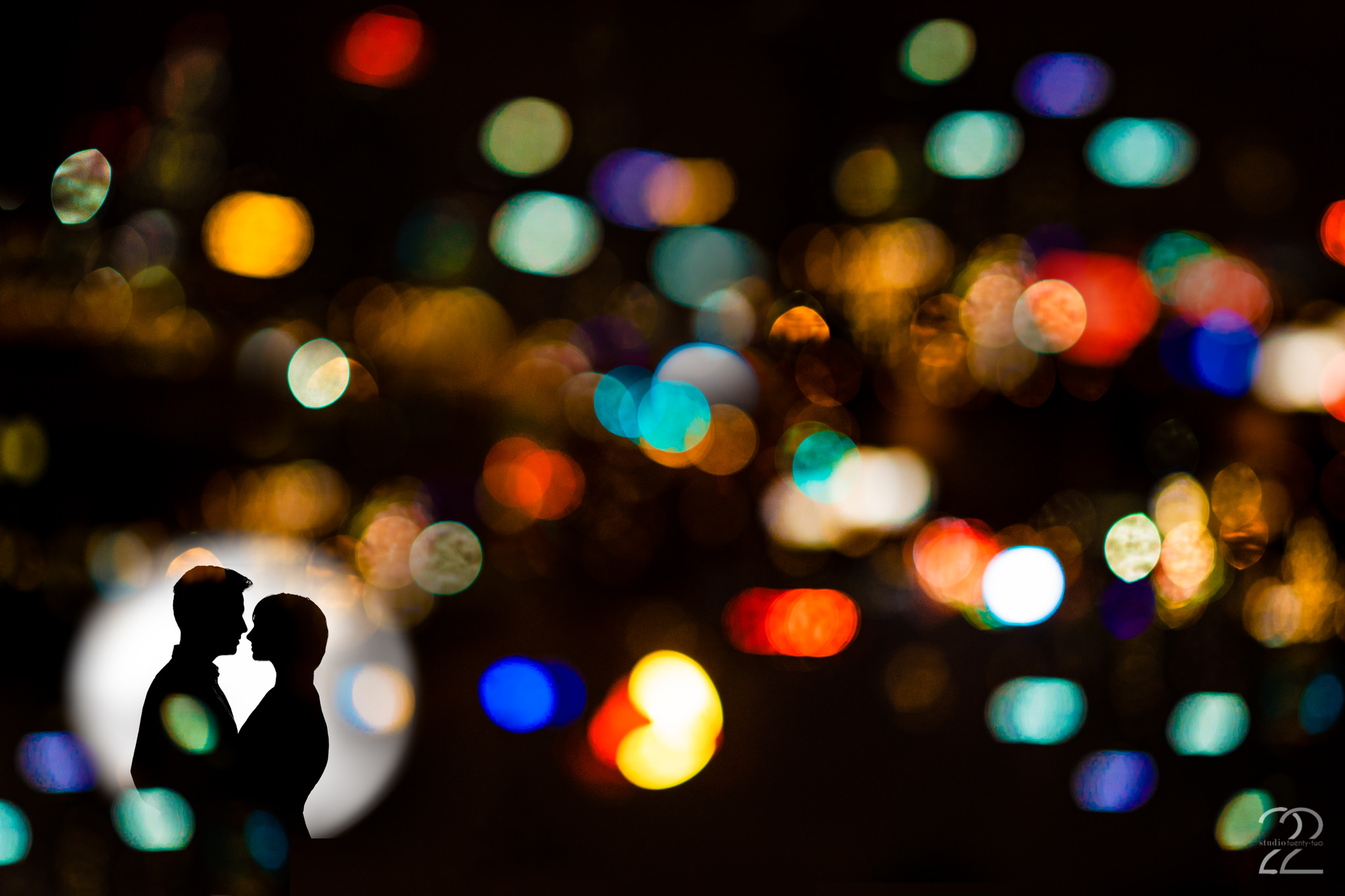 New Years Eve Engagement Photos in Kansas City - Studio 22 Photography