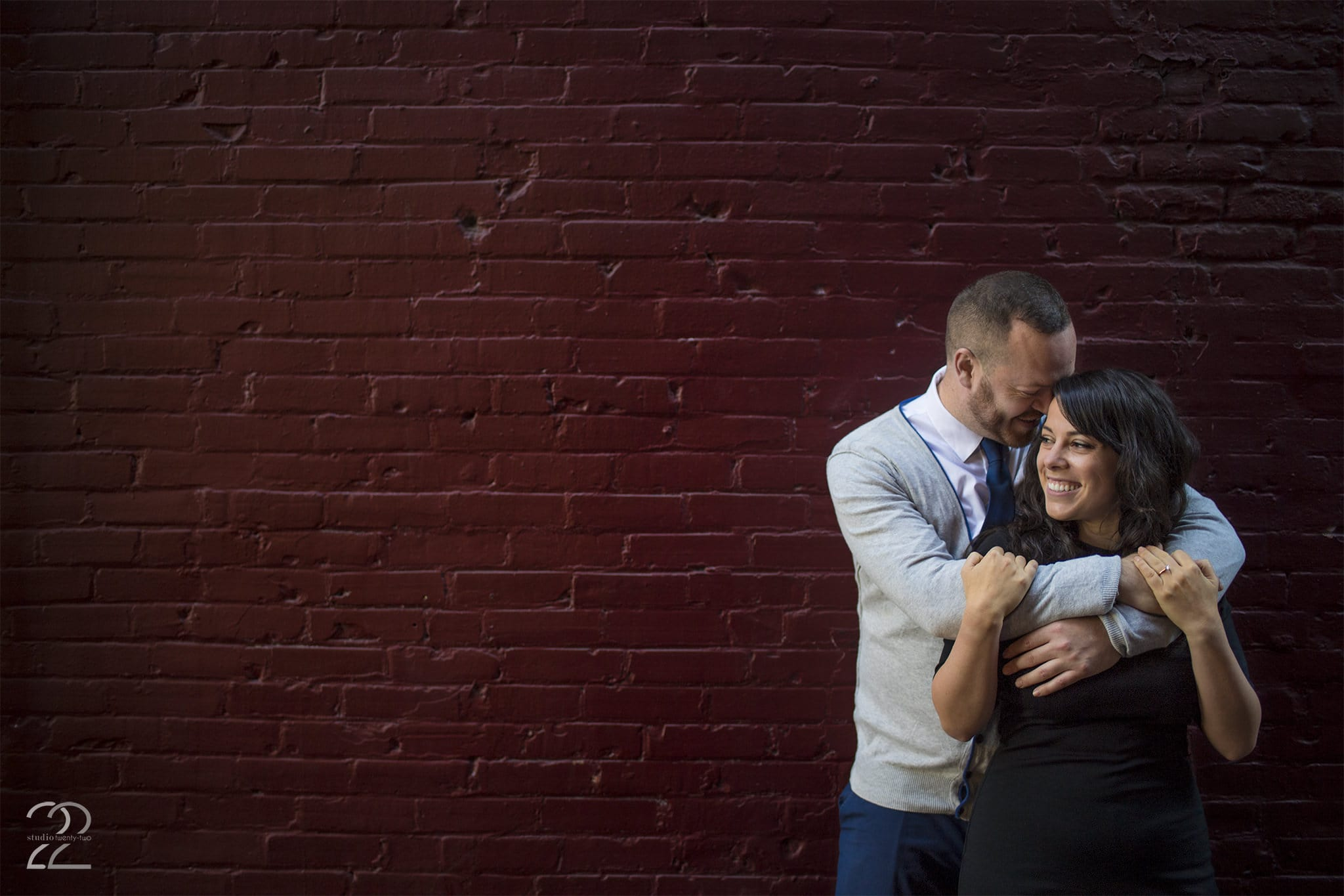 Gastown Engagement Photos in Vancouver