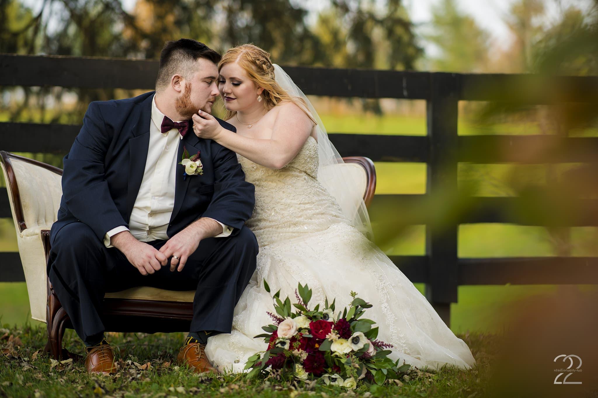Studio 22 Photography - Southern Weddings - Bride & Groom Portraits