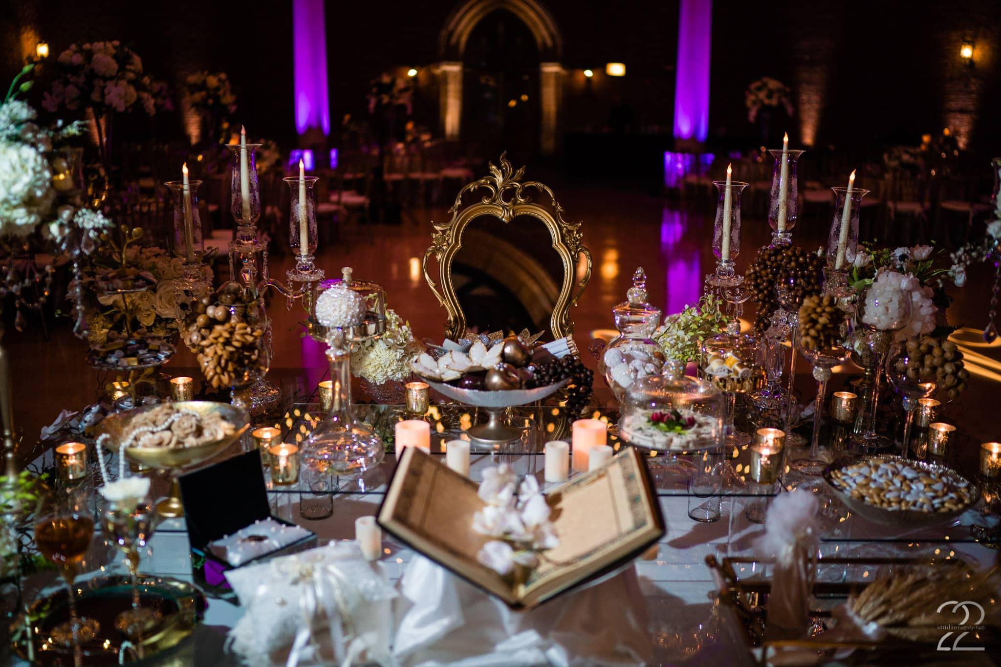 Soffreh Table Ideas - Dayton Art Institute Wedding Photos - Studio 22 Photography