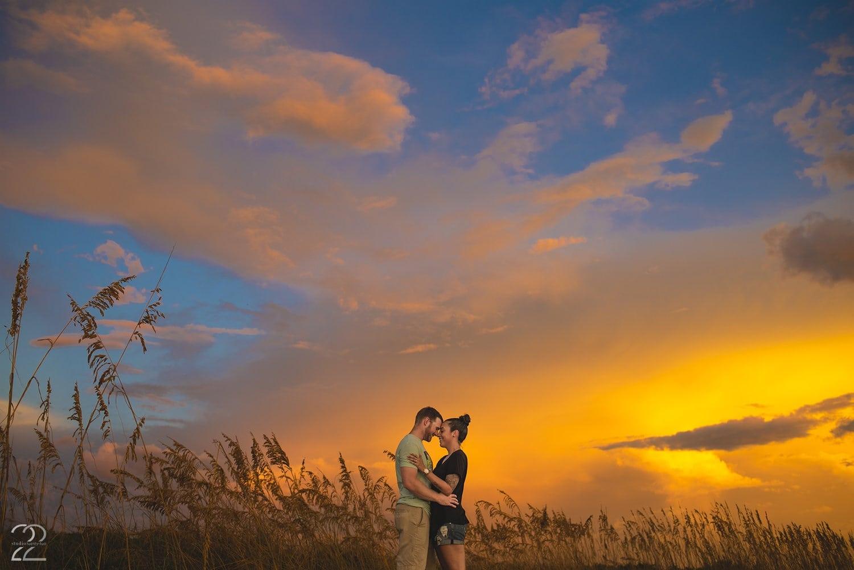 Studio 22 Photography - Sunset Surprise Proposal