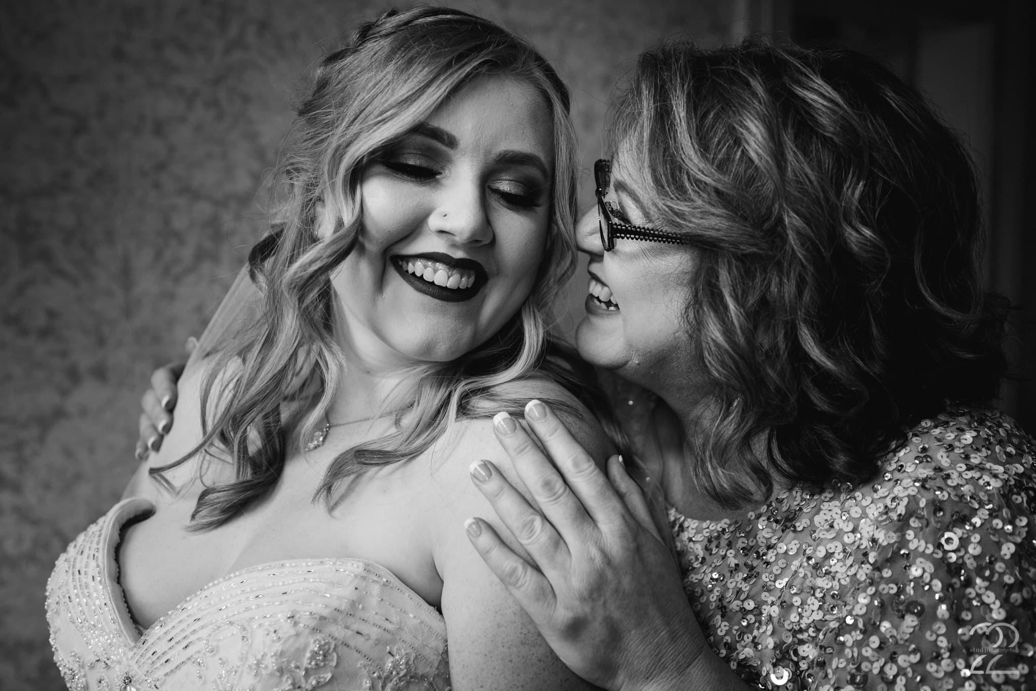 Southern Wedding Photos - Wedding Photos of Mother and Bride