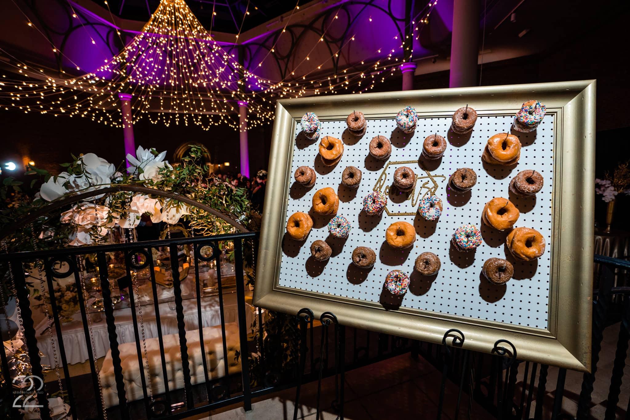 Wedding Ideas Donut Walls