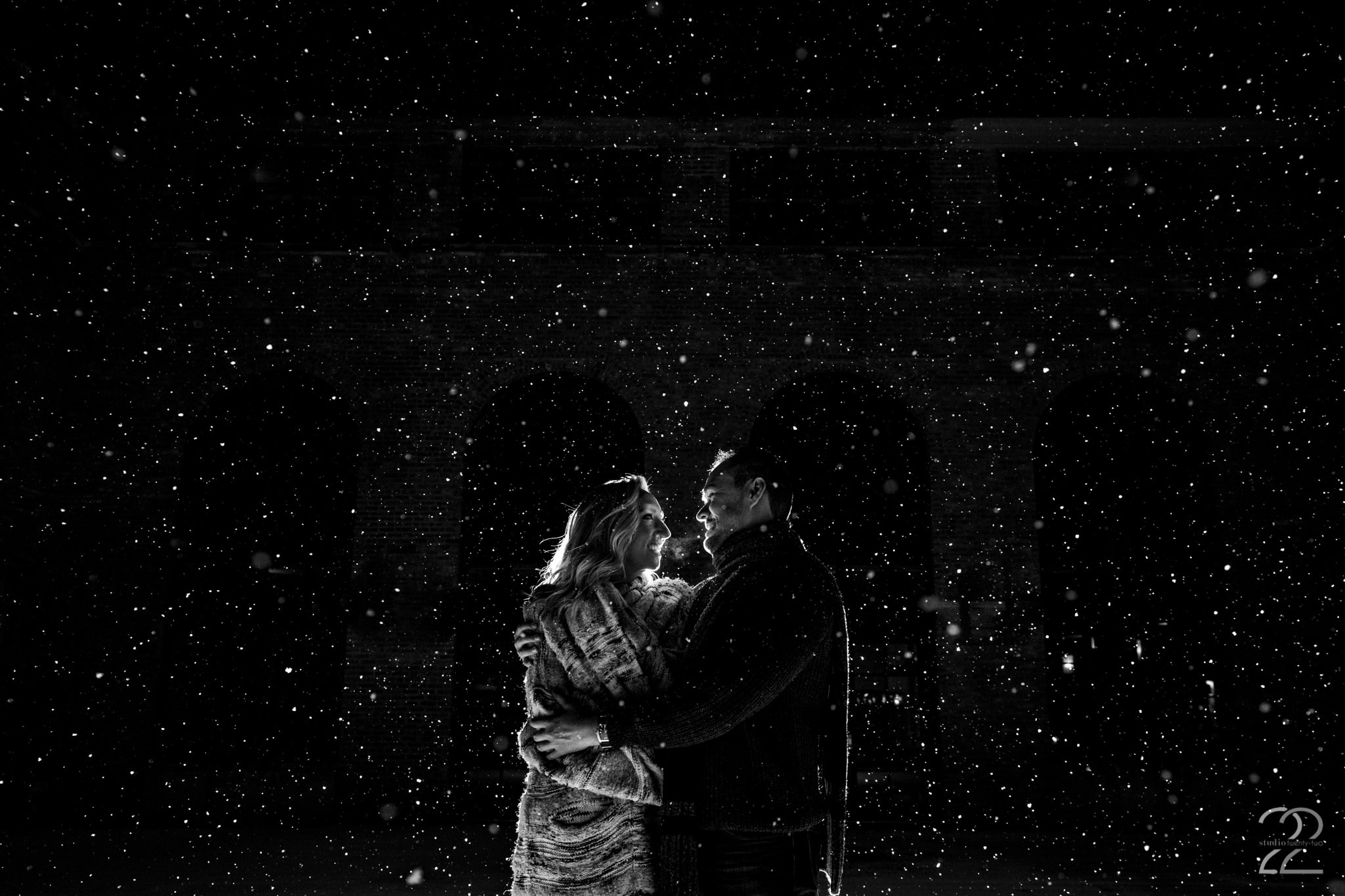 Chicago Engagement Photos - Studio 22 Photography - Winter Engagement Photos