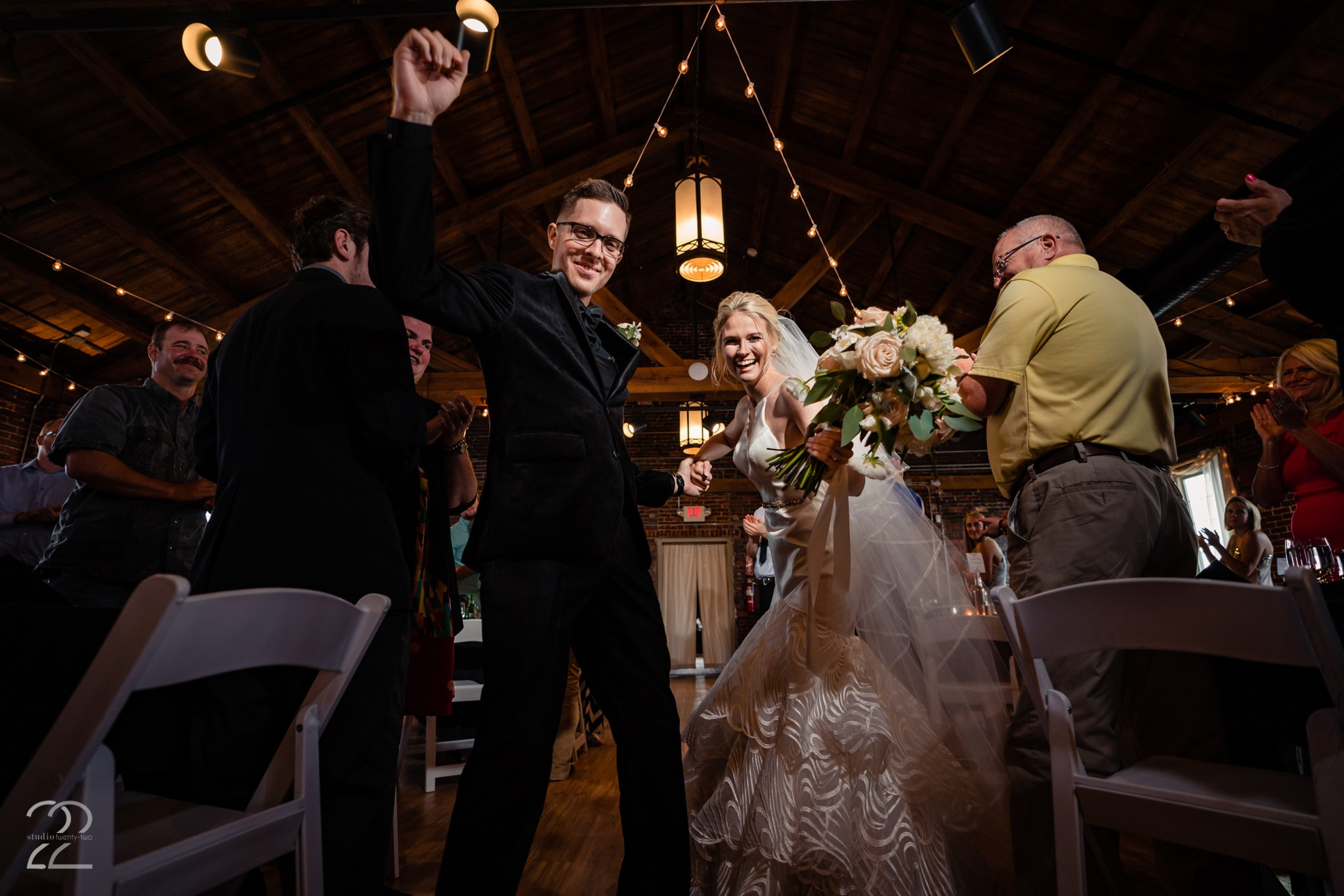 Wedding Receptions at Top of the Market