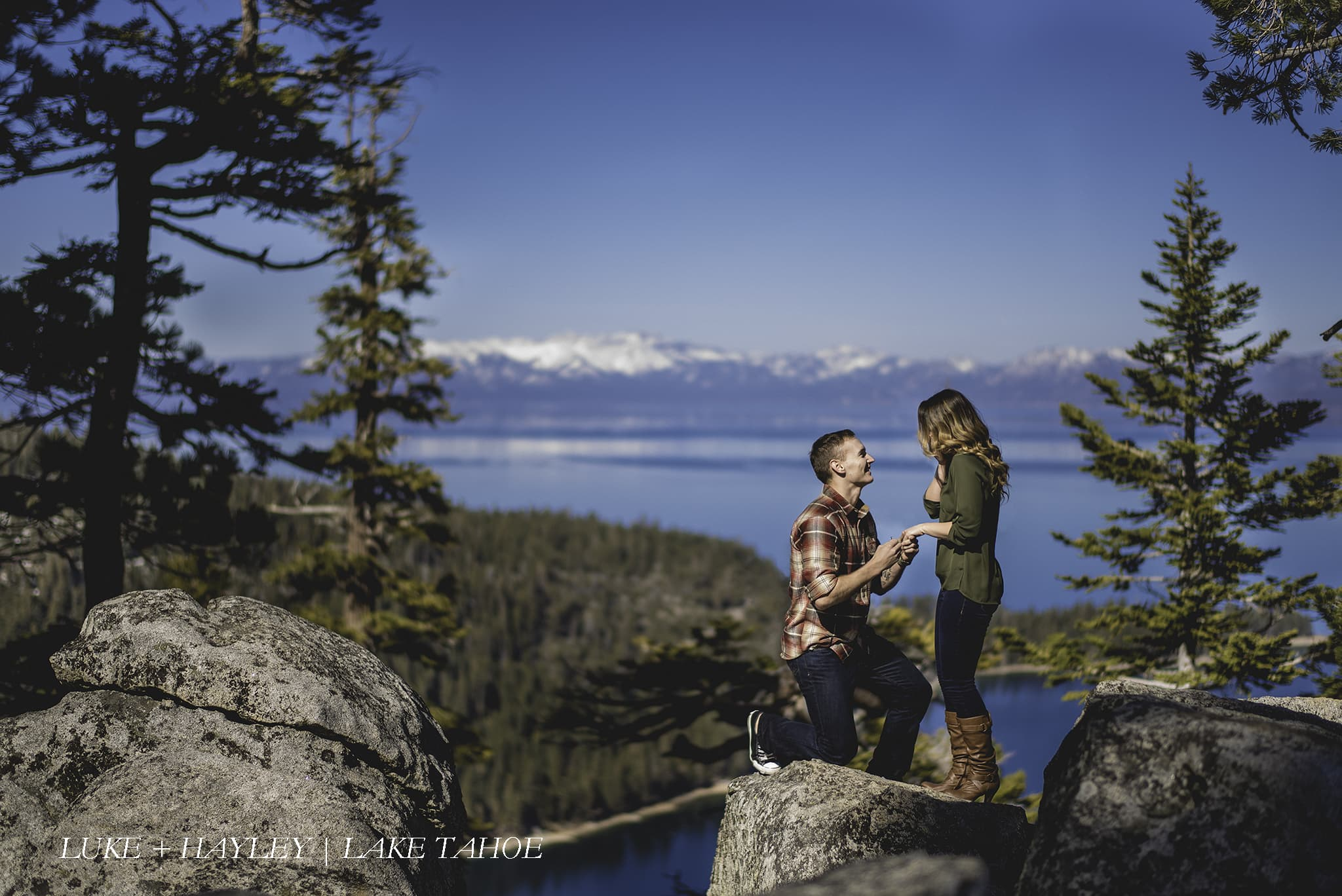 Lake Tahoe Engagement Photographer - Studio 22 Photography