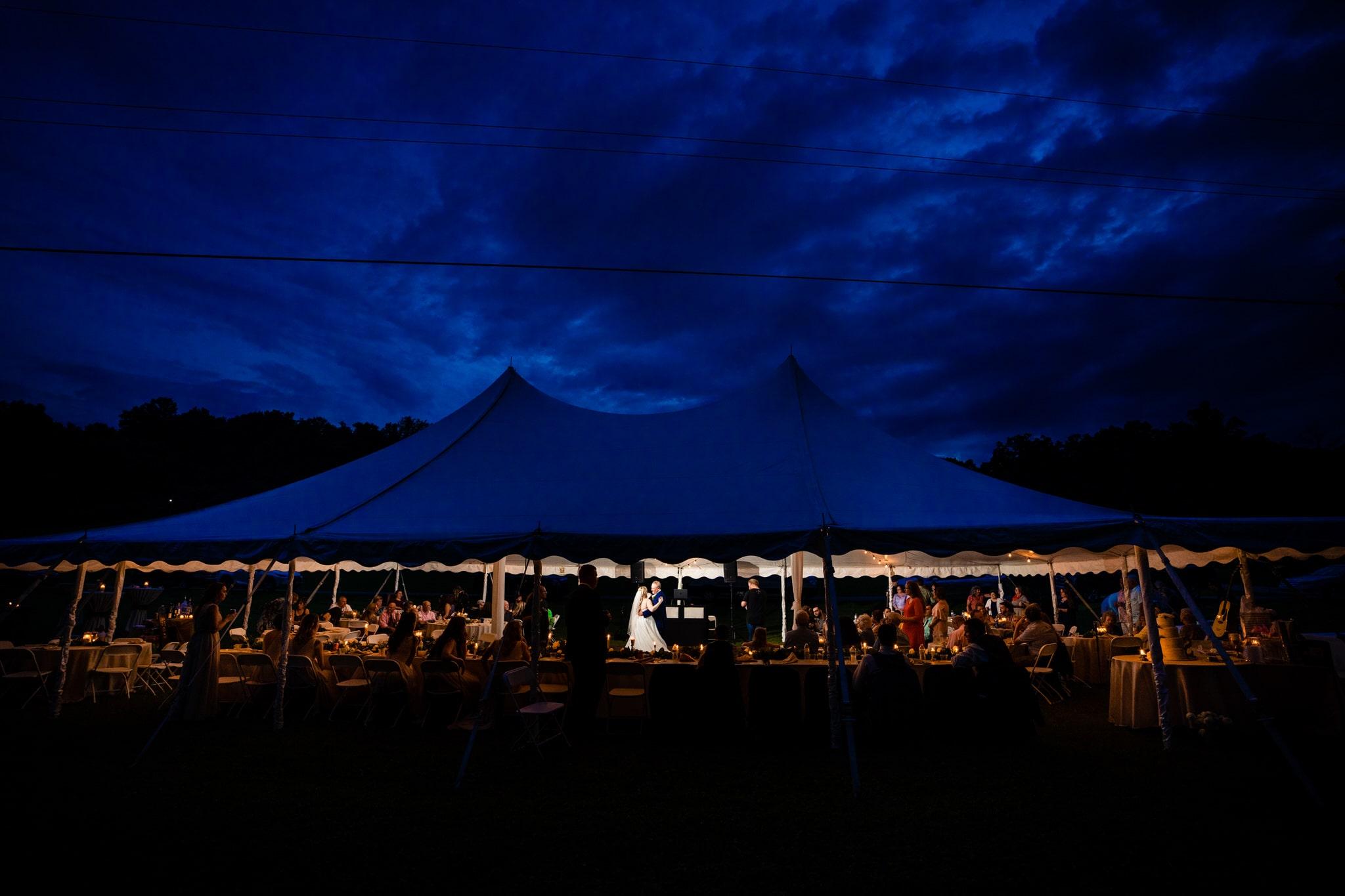 Outdoor Tent Weddings - West Virginia Wedding