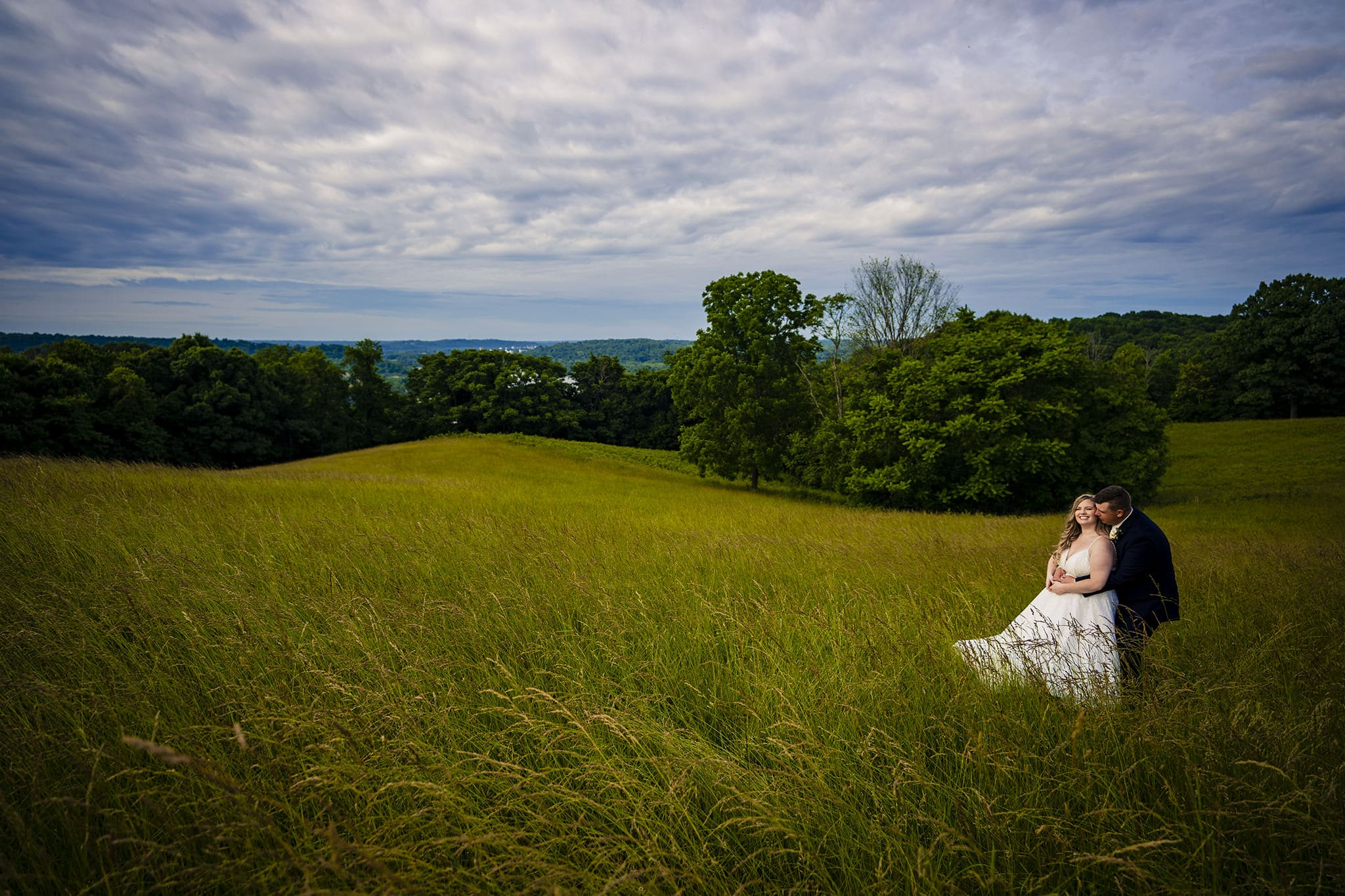Beautiful Overcast Wedding Photos