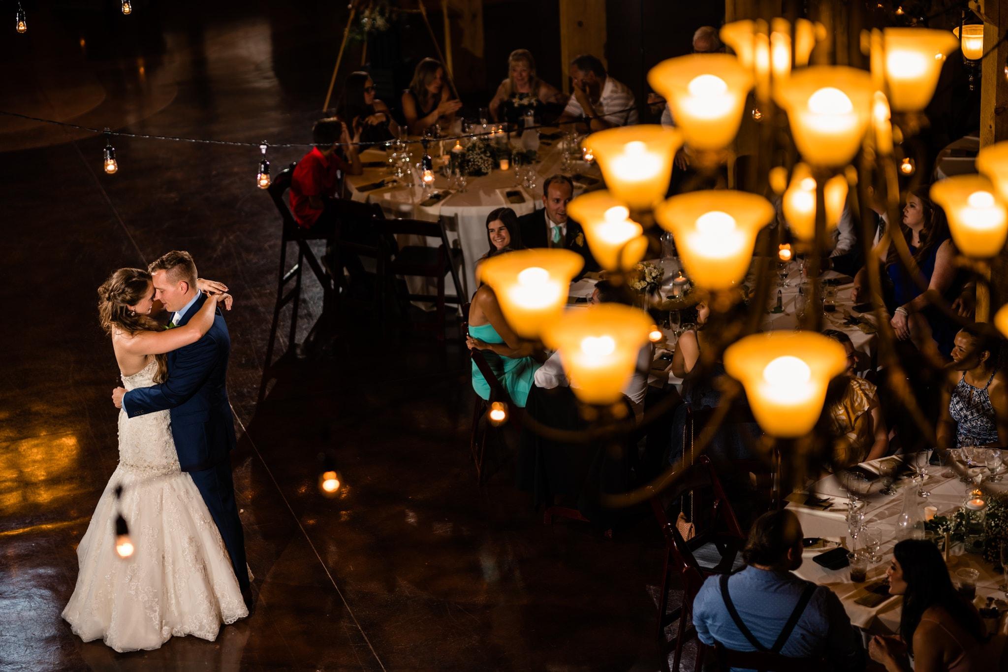 First Dances at Weddings - Ohio Barn Wedding
