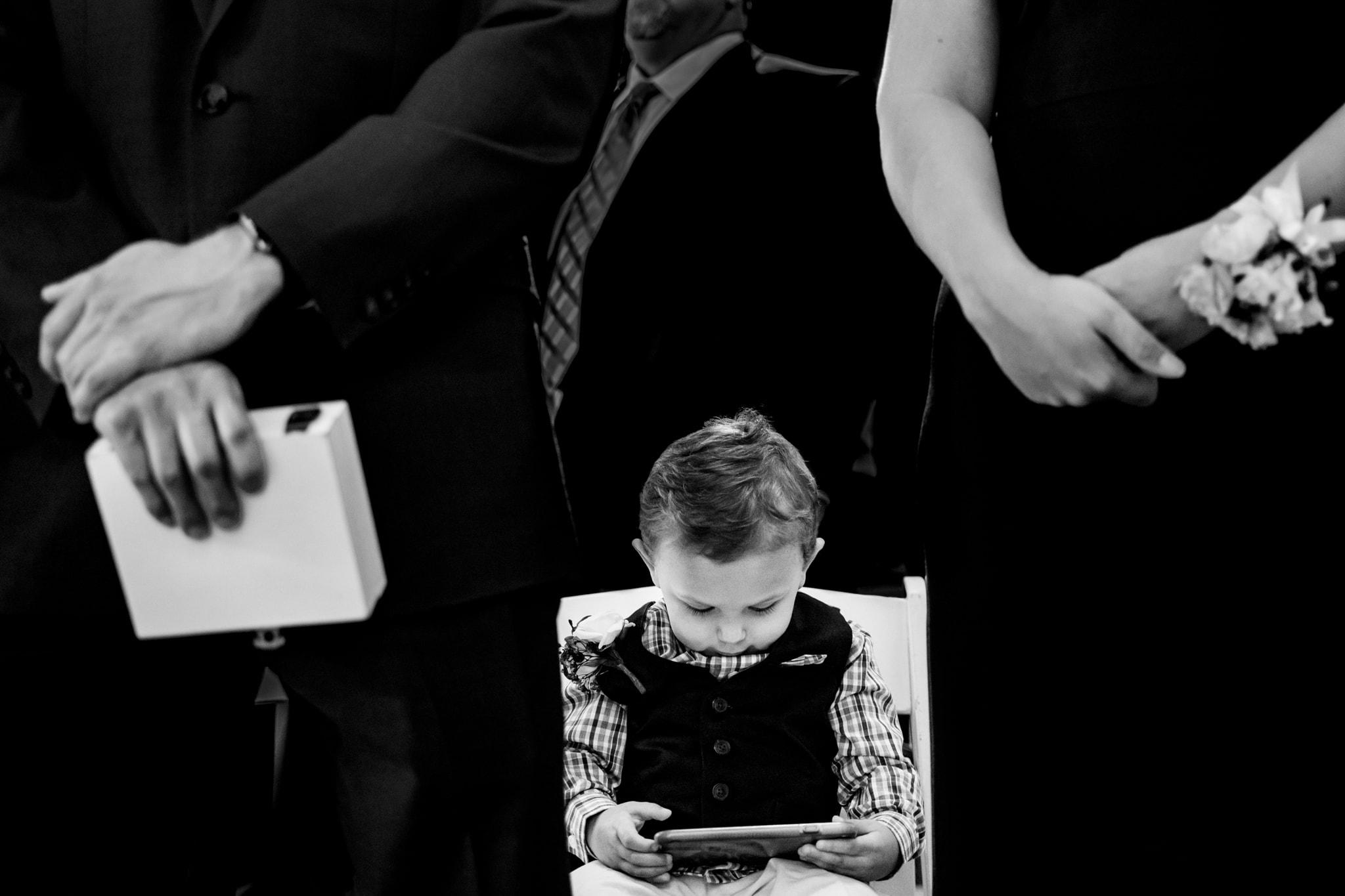 Cute Photos of Kids at Weddings