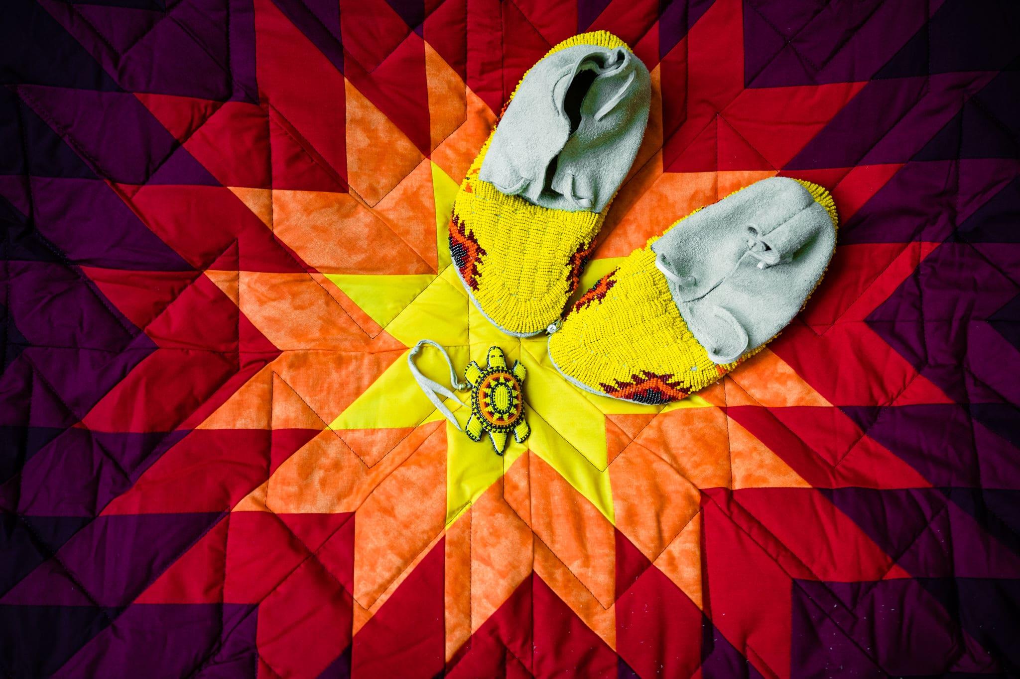 Star Quilt Lakota Souix Tribe