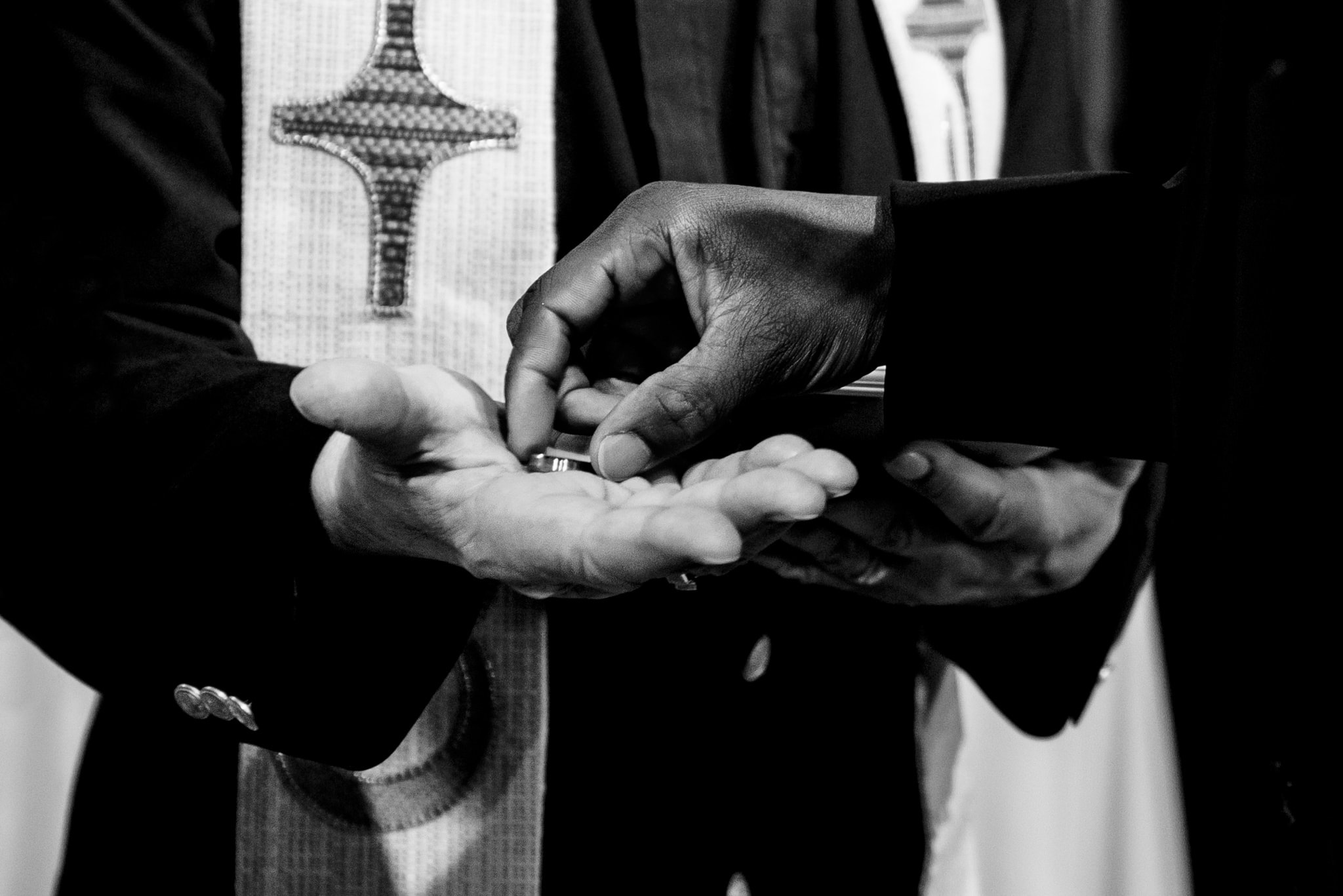 Ring Exchange during a Ceremony