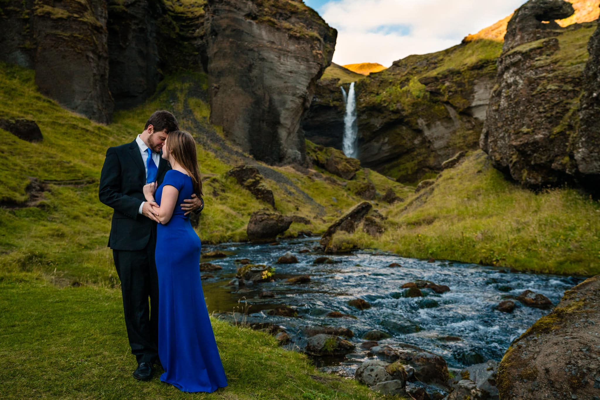 Icelandic Engagement Photos