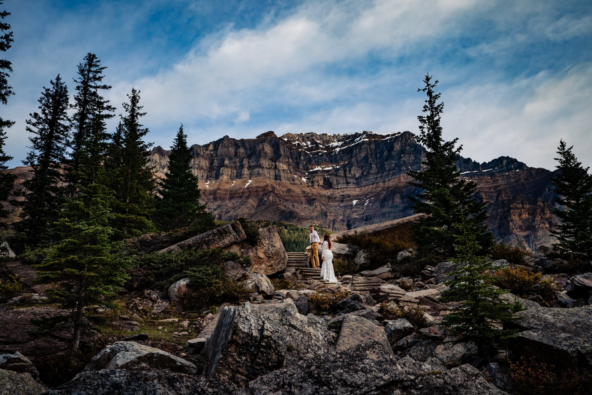 Canmore Engagement Photos - Best Places to get married in Canada