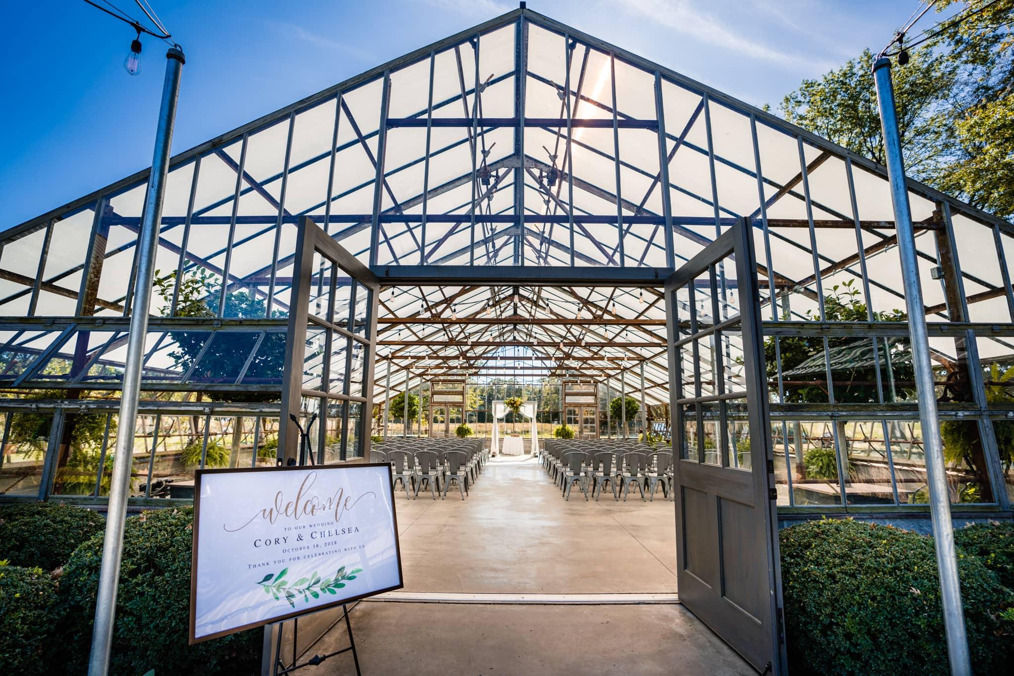 Modern Greenhouse Wedding at Jorgensen Farms